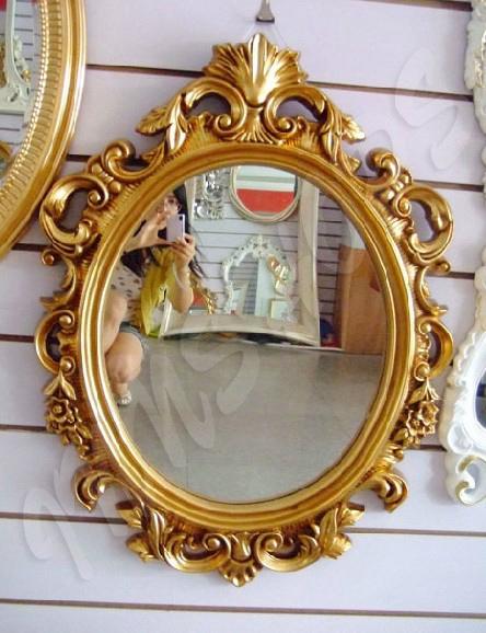 雕花镜 欧式古典雕花镜(is0700) - 镜子 - 田园家俬图片