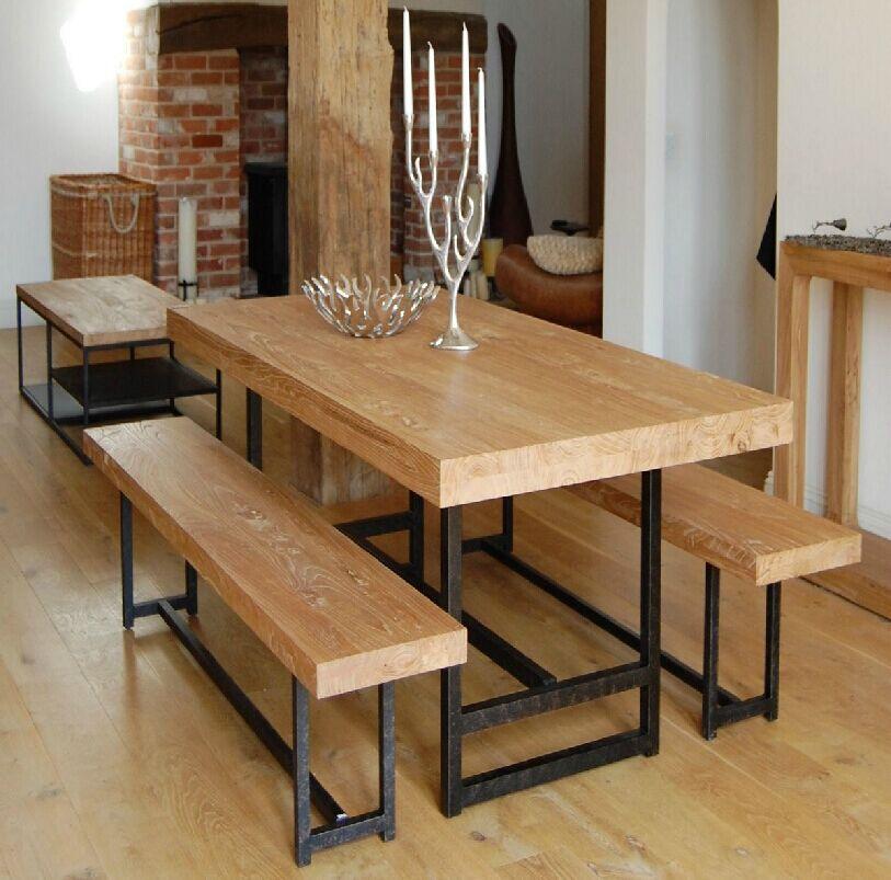 餐枱 書桌 實木厚身餐枱書桌 可訂造 Is0722 訂造傢俬款式 田園傢俬innshops